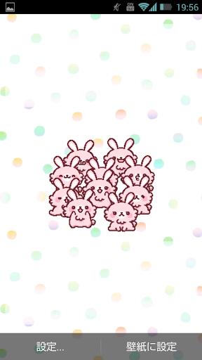 ウサギだらけ