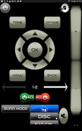 AVR Remote for Harman Kardon