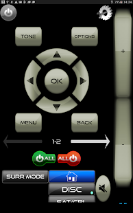 MyAV for Harman Kardon AVR remote app - náhled