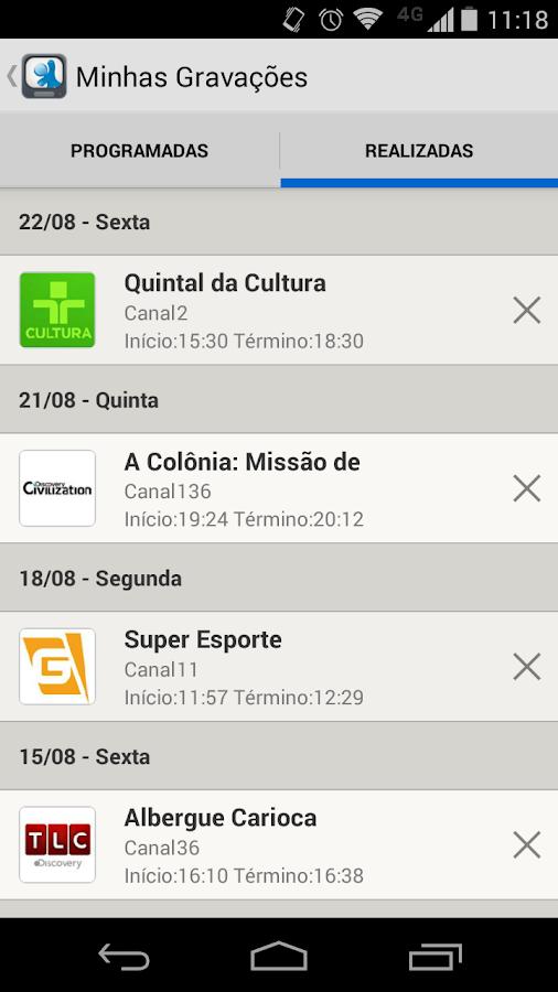 Vivo TV - screenshot