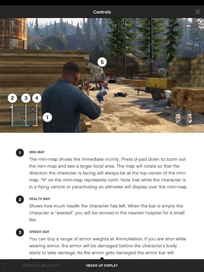 Grand Theft Auto V: The Manual- screenshot