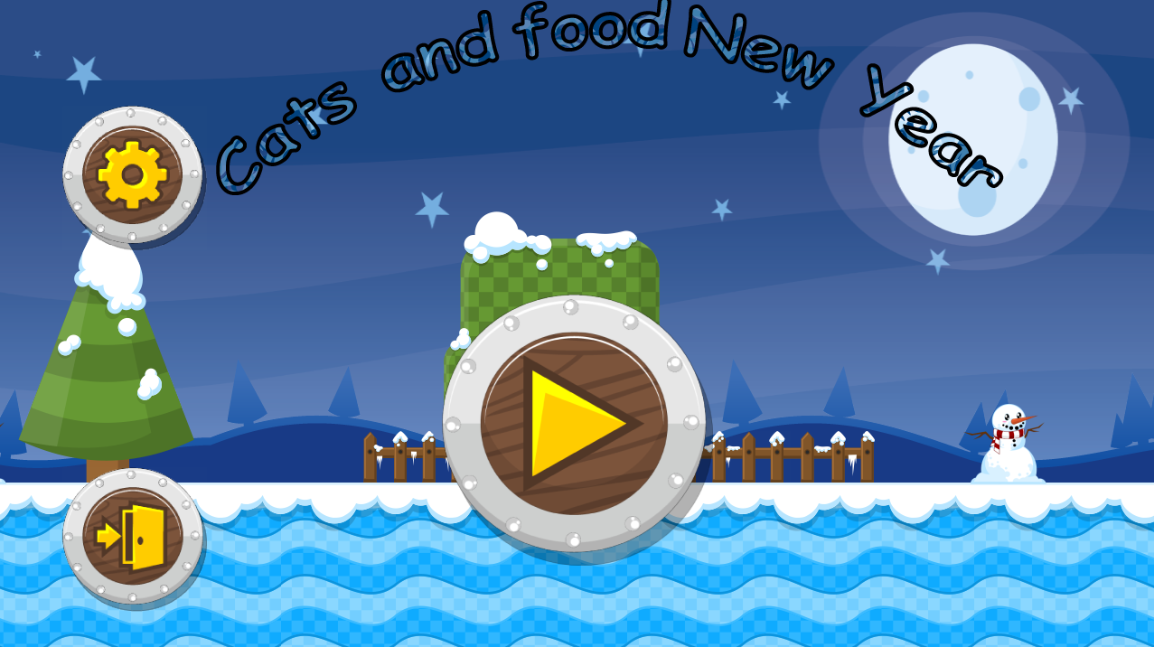 Cat And Food 4 Happy New Year Android Apps On Google Play