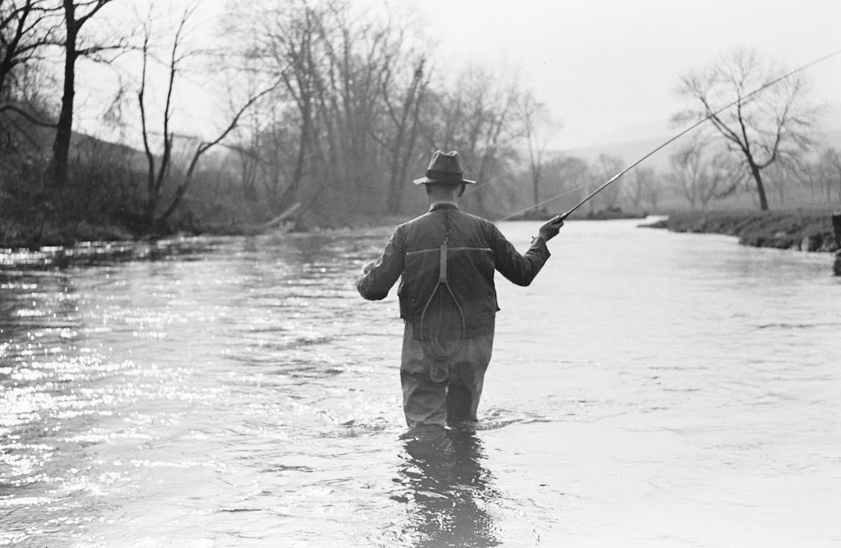 John A. Knight Fishing-Spring 1937