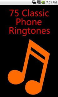 75 Classic Ringtones - screenshot thumbnail