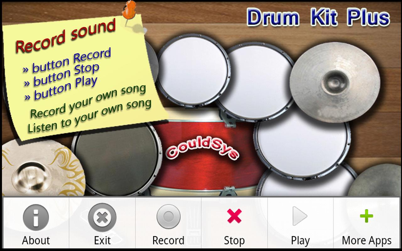 Bateria (Drum Kit) - screenshot