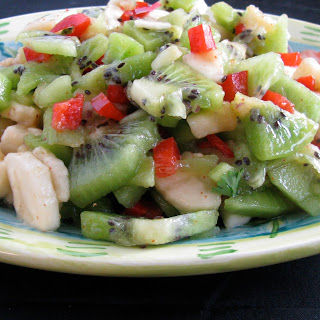 Banana Kiwi Salad