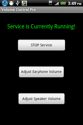 Volume Control Lite- screenshot