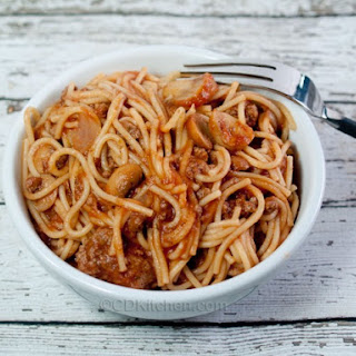 Spaghetti Noodles Ground Beef Recipes.