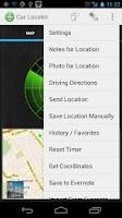 Screenshot of Car Locator TRIAL