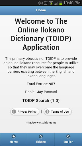 TOIDP - Search