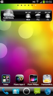 Sense Style Go Launcher Theme - screenshot thumbnail