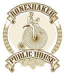 Logo for Boneshaker Brewery