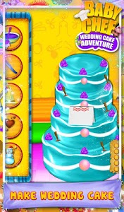 Baby Chef Wedding Cake v1.6