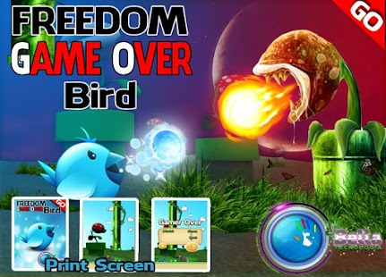 FREEDOM FOR BIRD - GAME OVER