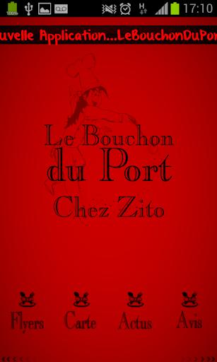 Le Bouchon du Port Chez Zito