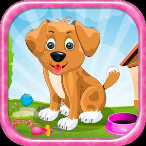 一天,小狗女孩遊戲 休閒 App LOGO-APP試玩