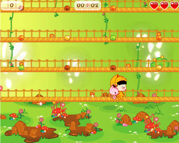 Cat Jump Ninja - screenshot
