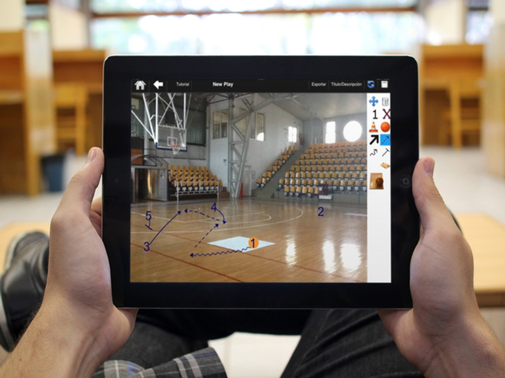 BasketBall Playbook Coach - screenshot