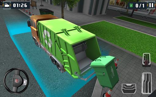 3Dごみトラックシムパーク