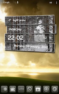 Weather Labels UCCW Skin - screenshot thumbnail