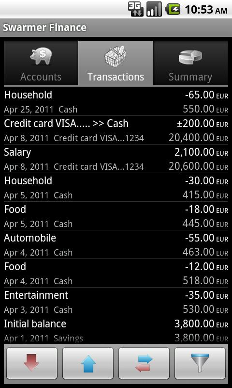 Swarmer Finance- screenshot