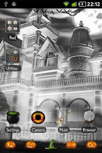 Halloween GO Launcher EX Theme- screenshot thumbnail