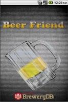 Screenshot of Beer Friend