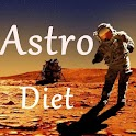 AstroDiet astronomical weight icon