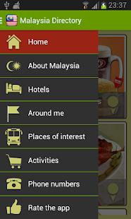 Malaysia Directory - screenshot thumbnail