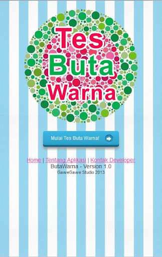 【免費健康App】Tes Buta Warna-APP點子