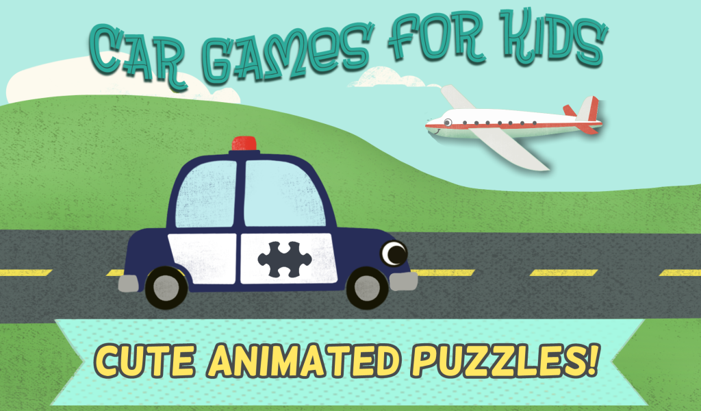 Car Games for Kids: Puzzles- screenshot