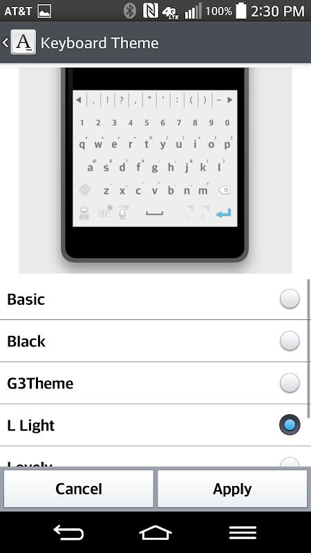 L-Light Keyboard LG THEME APK 2 0 13 Download - Free Personalization