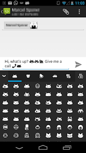 Pure Android Emoji Keyboard- screenshot thumbnail