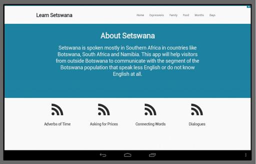 Learn Setswana 2.0