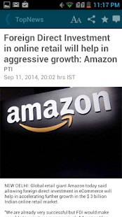 The Economic Times News- screenshot thumbnail
