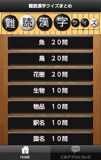 難読漢字クイズまとめ