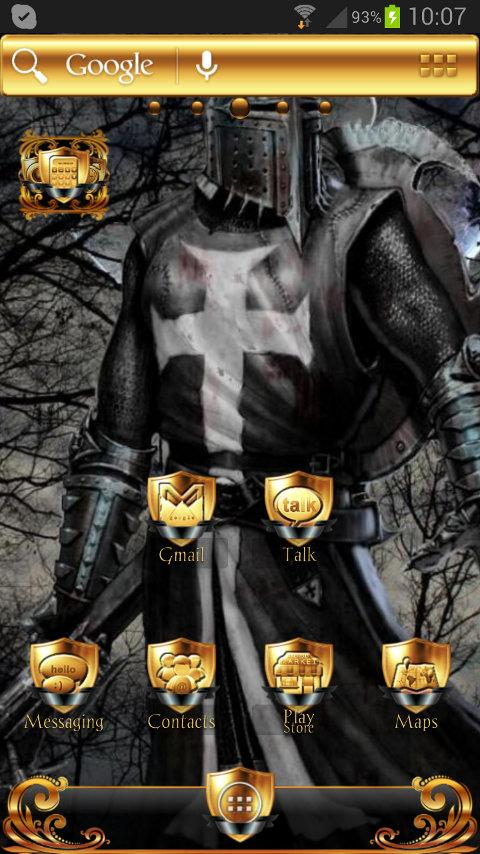 Black Knight ADWTheme - screenshot