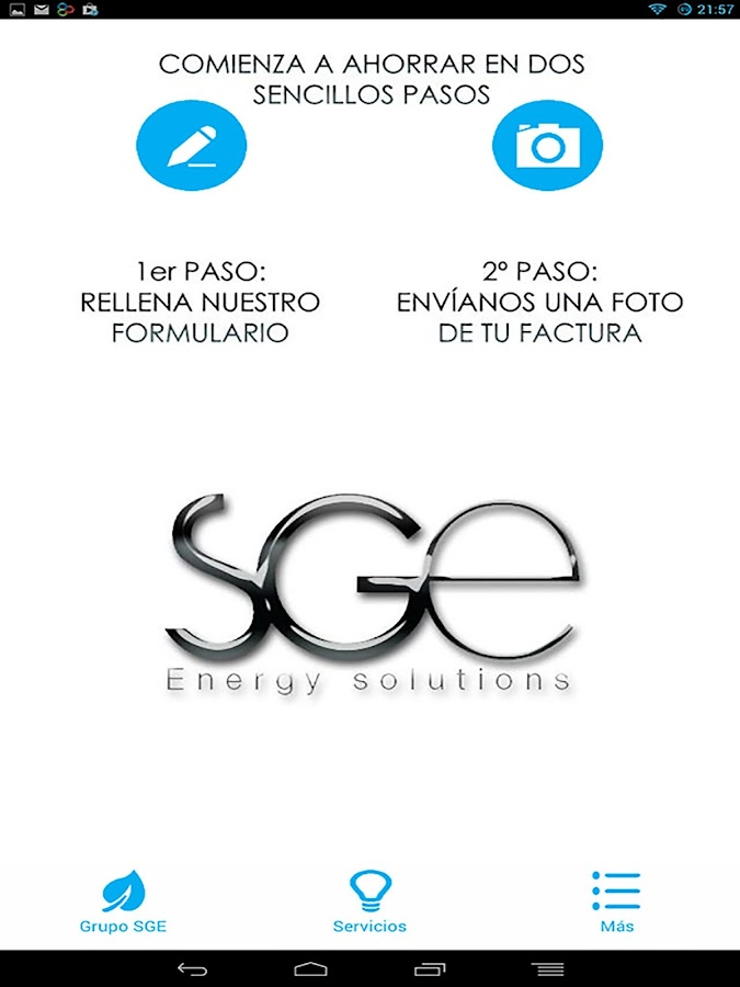 Grupo SGE- screenshot