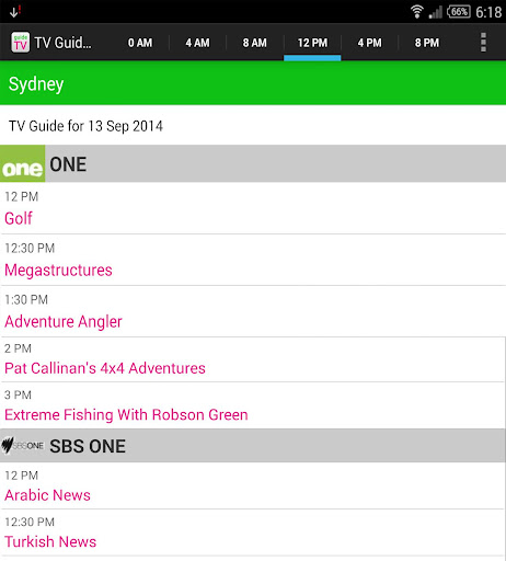 【免費娛樂App】TV Guide Australia-APP點子