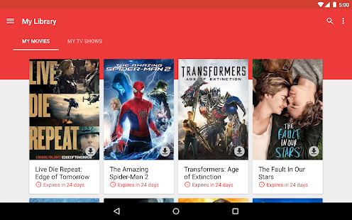 Google Play Movies & TV- screenshot thumbnail
