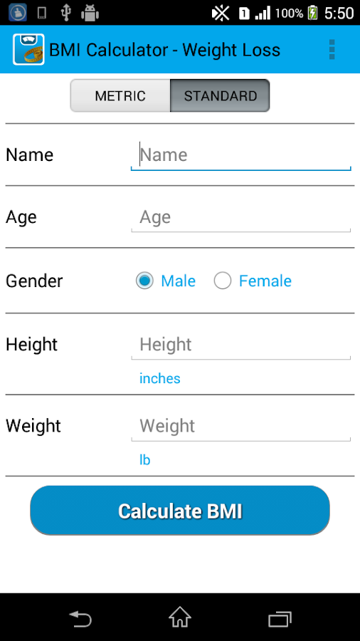 BMI Calculator - Weight Loss - Android Apps on Google Play