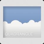 Quadrangle Go Adw Apex Theme v5.3