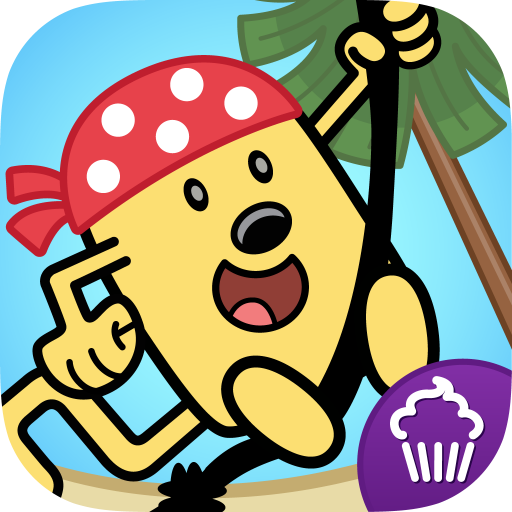 Wubbzy's Pirate Treasure LOGO-APP點子