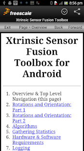 Sensor Fusion Toolbox- screenshot thumbnail