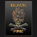 BLACK FIRE CM 10-11 THEME icon