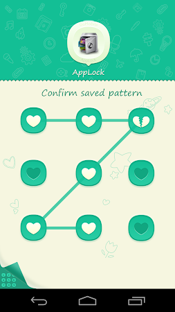 AppLock Theme Green 1.1 screenshot 6253