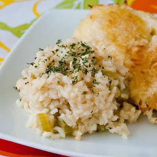 Garlic Rice Pilaf.
