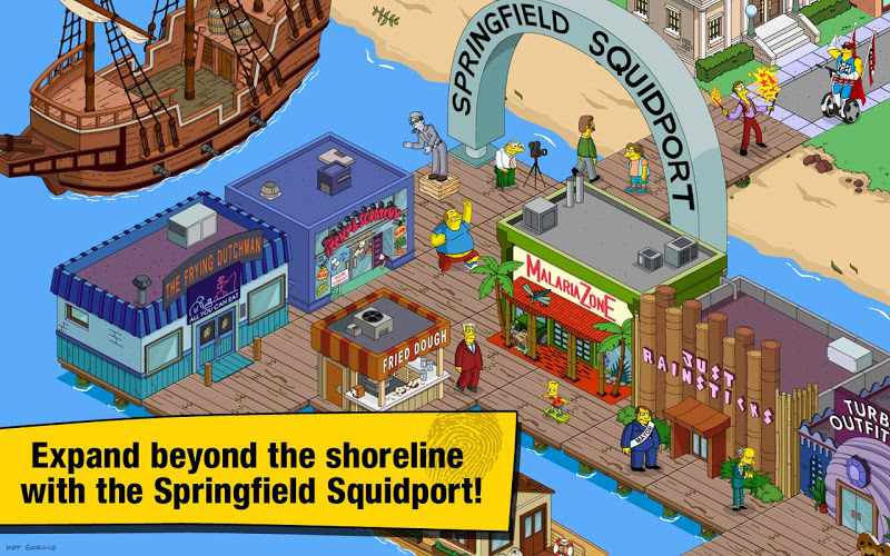 The Simpsons Tapped Out APK Mega Mod v4.12.0 - screenshot
