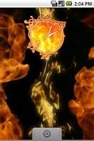 Screenshot of Fire Clock