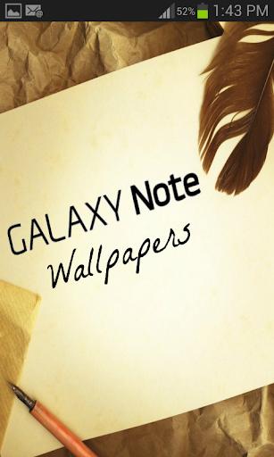 Galaxy Note的壁纸